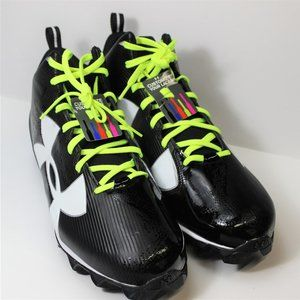 Under Armour Crusher RM Football Cleats - Black